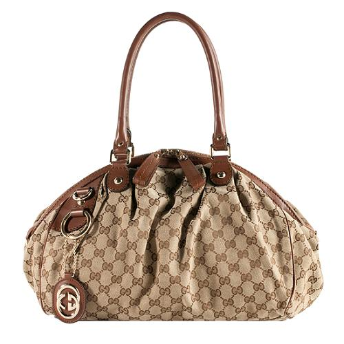e681b8a023c136 Gucci 'Sukey' Medium Boston Satchel Handbag