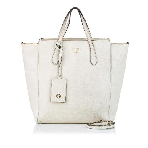 Gucci Swing Leather Satchel