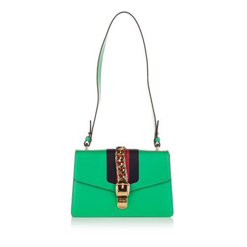 Gucci Sylvie Leather Shoulder Bag