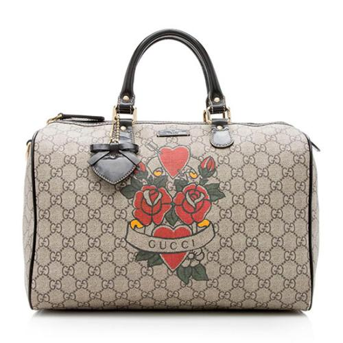 Gucci Tattoo Joy Medium Boston Bag
