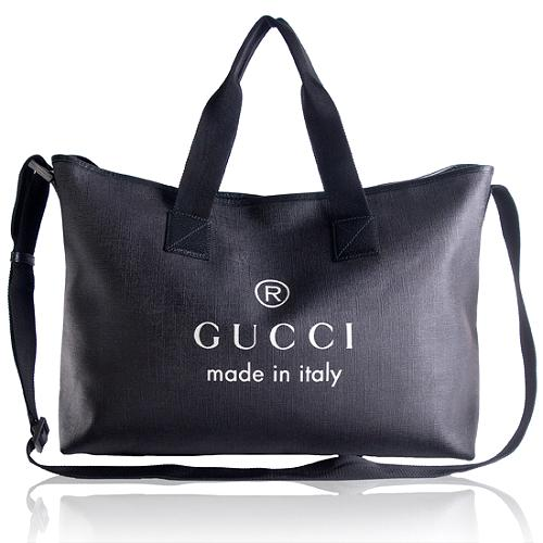 Gucci Trademark Shopping Tote