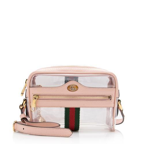 Gucci Transparent Ophidia Mini Shoulder Bag