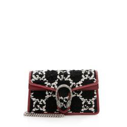 Gucci Tweed Dionysus Super Mini Bag