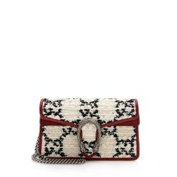 Gucci Tweed Dionysus Super Mini Bag