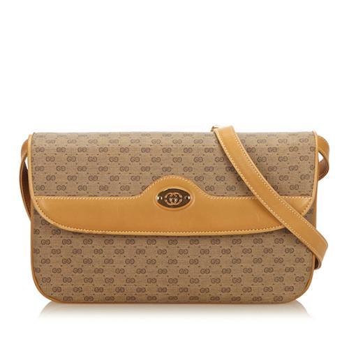 Gucci Vintage GG Plus Crossbody Bag