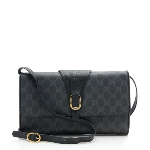 Gucci Vintage GG Plus Flap Shoulder Bag - FINAL SALE
