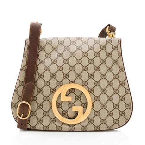 Gucci Vintage GG Plus Shoulder Bag