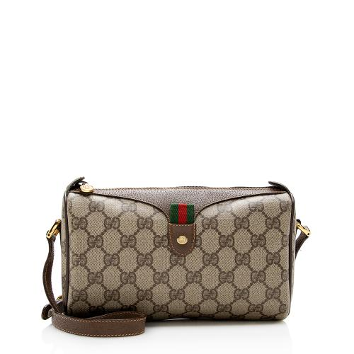 Gucci Vintage GG Supreme Web Crossbody Bag