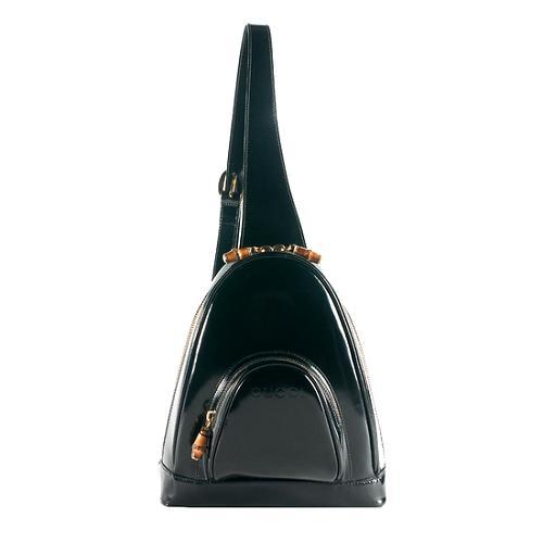 0ee590eddea Gucci-Vintage-Leather-Bamboo-Sling-Backpack 54220 front large 1.jpg
