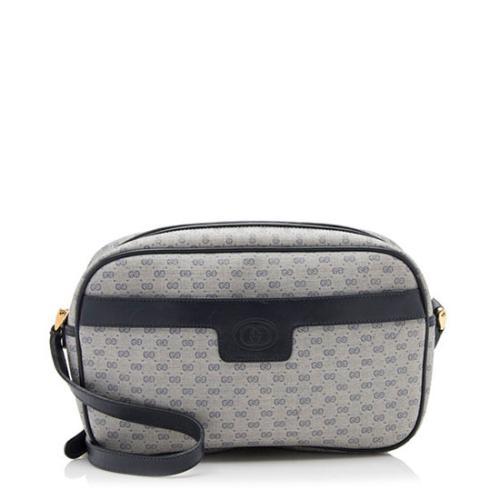 Gucci Vintage Micro GG Crossbody Bag