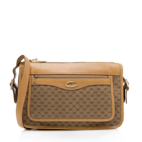 Gucci Vintage Micro GG Pocket Shoulder Bag