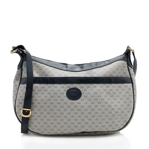 Gucci Vintage Micro GG Shoulder Bag - FINAL SALE