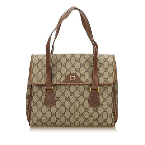Gucci Vintage GG Plus Satchel