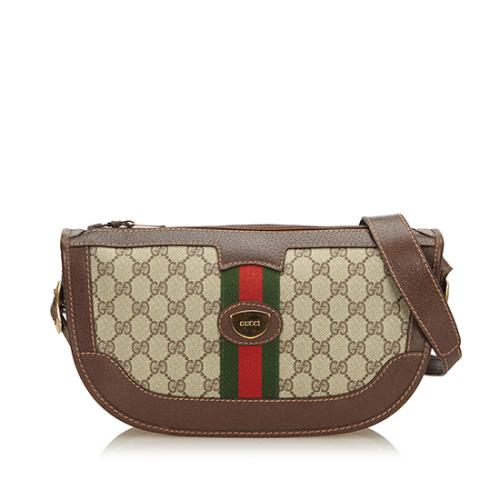Gucci Vintage Supreme Web Shoulder Bag