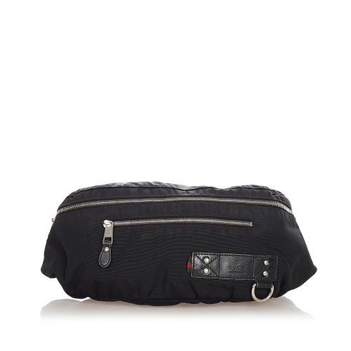 Gucci Web Canvas Belt Bag