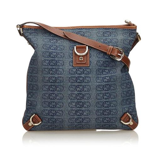 Gucci Guccissima GG Denim Abbey Crossbody Bag