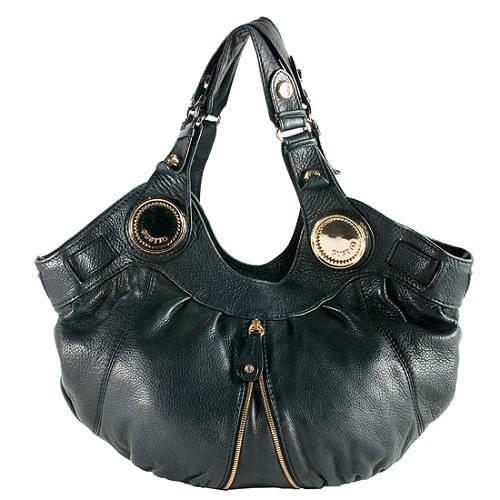 Gustto Leather Budelli Hobo Handbag