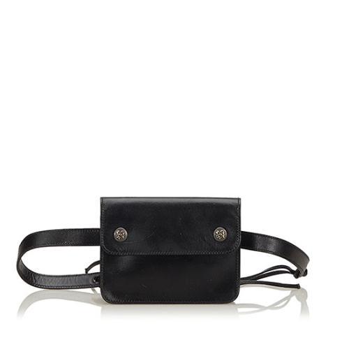 Hermes Vintage Calfskin Pochette Belt Bag