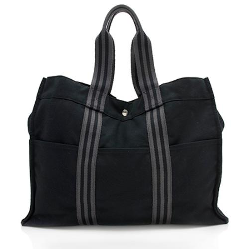 Hermes Canvas Herline GM Tote