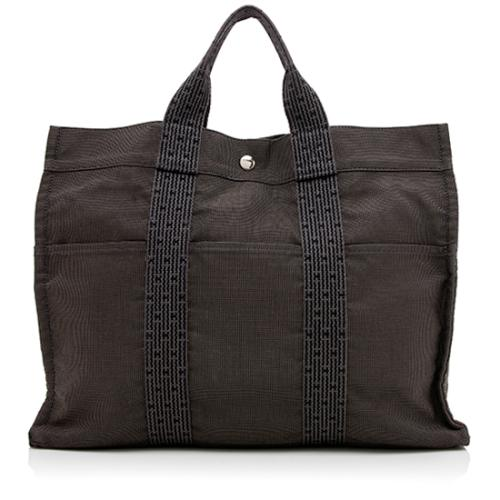 Hermes Canvas Herline MM Tote