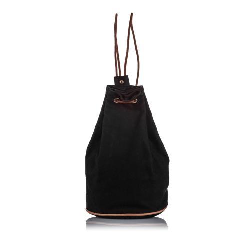 Hermes Canvas Polochon Mimile  Backpack