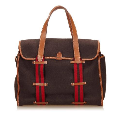 Hermes Cotton Handbag