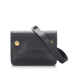 Hermes Courchevel Pochette Waist Bag