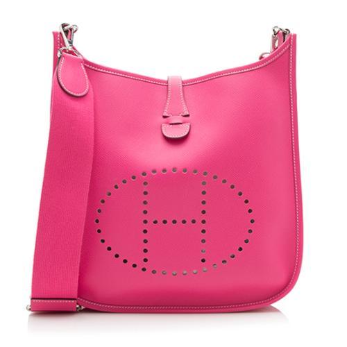 Hermes Epsom Evelyne III PM Shoulder Bag