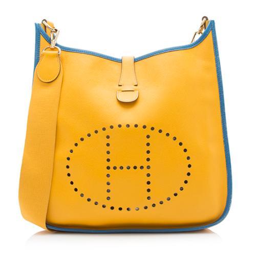 Hermes Epsom Evelyne PM I Shoulder Bag