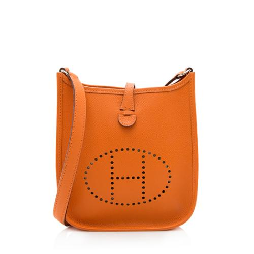 Hermes Epsom Evelyne TPM Shoulder Bag