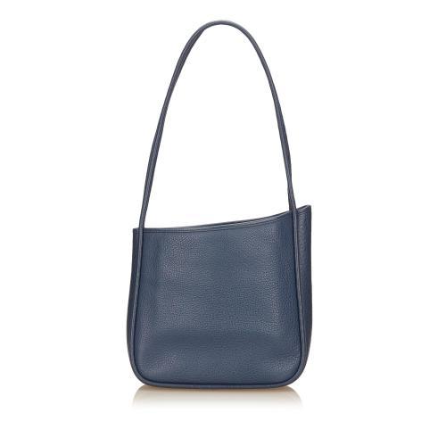 Hermes Leather Nami Shoulder Bag