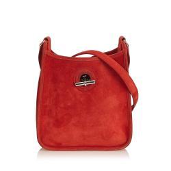 Hermes Leather Vespa TPM Shoulder Bag