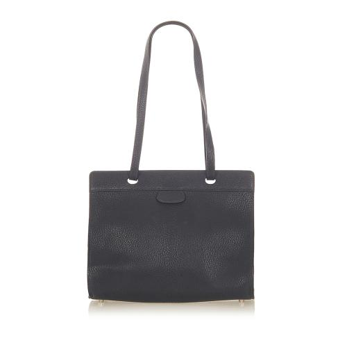 Hermes Muso Leather Tote Bag
