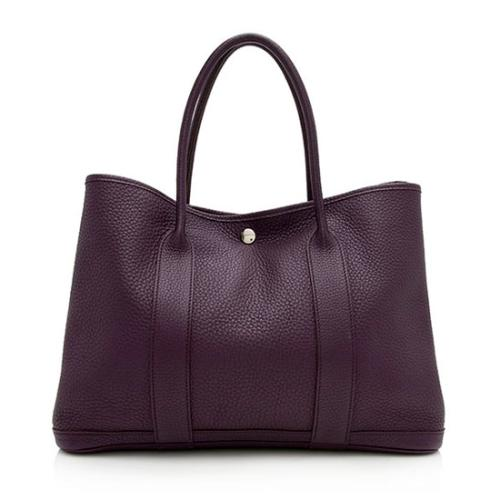 Hermes Negonda Leather Garden Party 36mm Tote