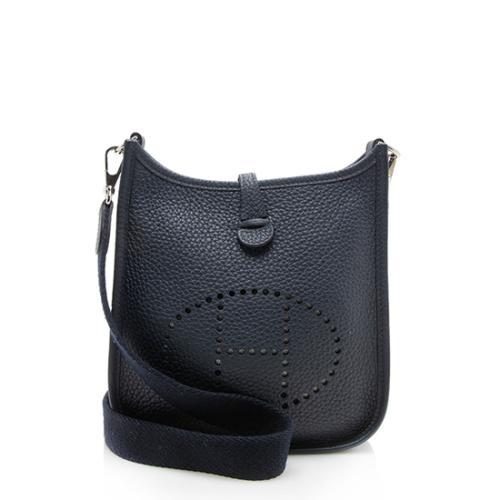 Hermes Taurillon Clemence Amazone Evelyne TPM Shoulder Bag