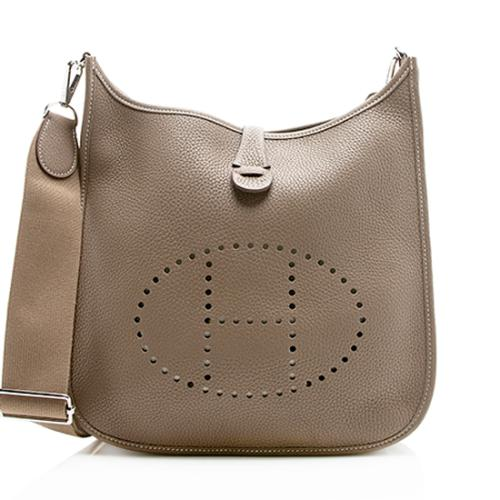 Hermes Taurillon Clemence Evelyne III 29 Shoulder Bag