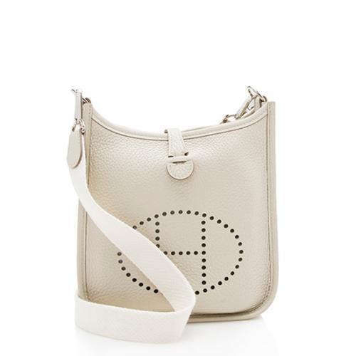 Hermes Taurillon Clemence Evelyne TPM Shoulder Bag