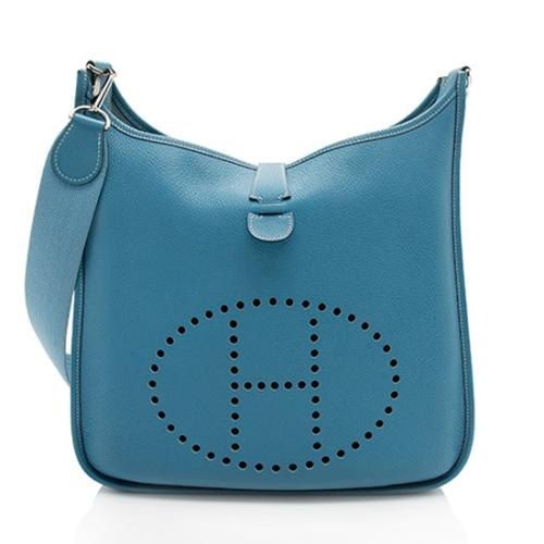 Hermes Togo Evelyne I GM Shoulder Bag