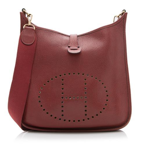 973195bdcf discount code for hermes evelyne togo bag singapore 7c49e bd936