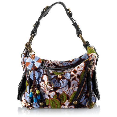 Isabella Fiore Cut a Rug Tessa Hobo Handbag