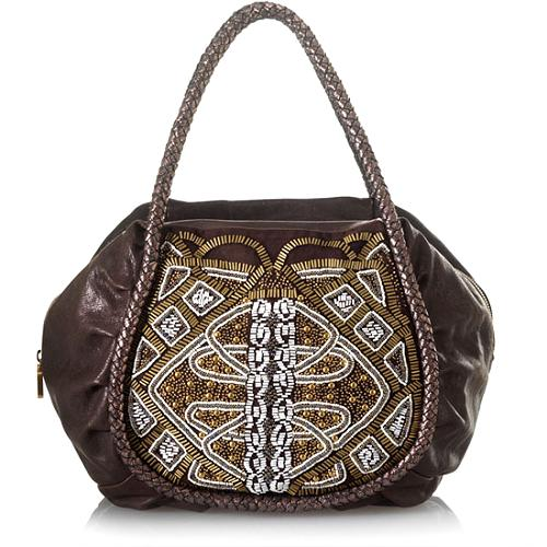 Isabella Fiore Deco Valentina Satchel Handbag