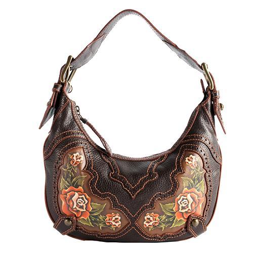039c120ed919 Isabella Fiore.  Desert Rose  Audra Hobo Handbag