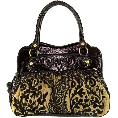 Isabella Fiore Heirloom Bloom Simone Satchel Handbag