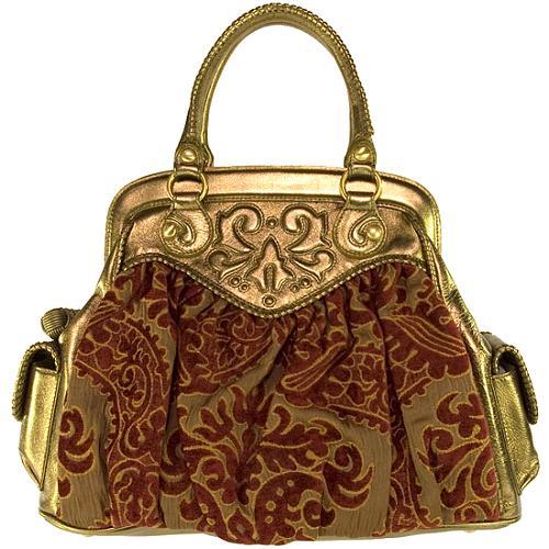 Isabella Fiore Heirloom Celine Satchel Handbag