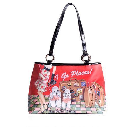 Isabella Fiore I Go Places Shoulder Handbag