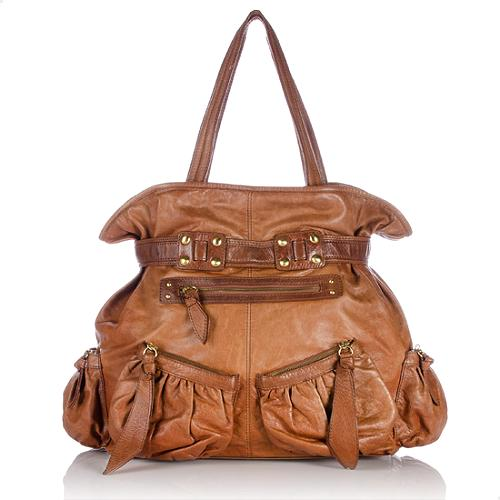Isabella Fiore Knotty By Nature Leather Helena Shoulder Bag - FINAL SALE