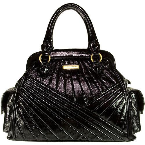 Isabella Fiore Let Go My Deco Celine Satchel Handbag