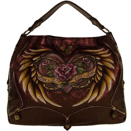 Isabella Fiore Live to Love Jeni Hobo Handbag