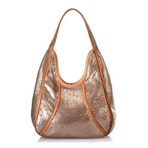 Isabella Fiore Mesh Leila Hobo Handbag