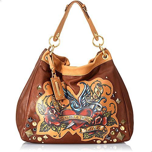 Isabella Fiore Peace & Love Rafaela Hobo Handbag